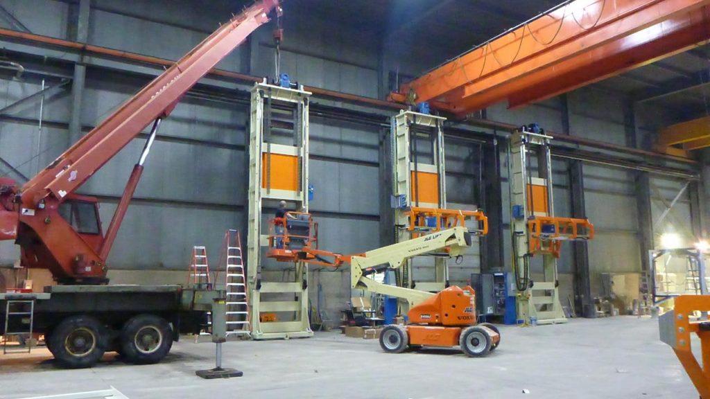 Heavy Equipment Elevators