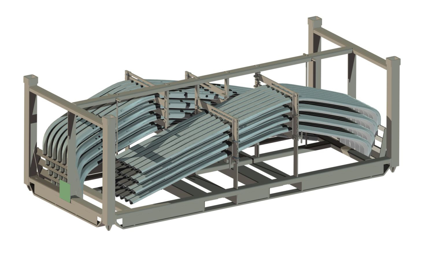 ROOF RAIL WITH PARTS